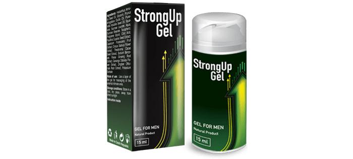 StrongUP Gel pentru potență: și ești cel mai bun în sex
