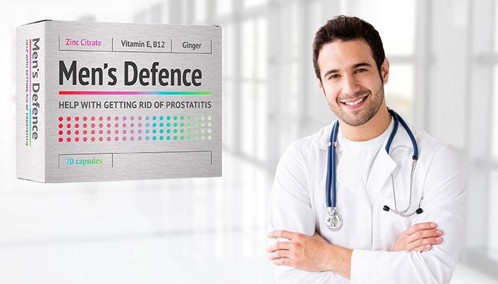 Men's Defence: produs profesionist pentru lupta cu prostatita