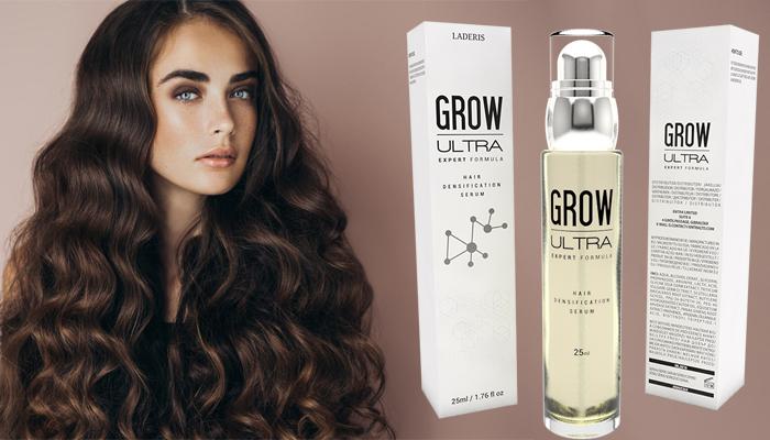 GrowUltra pentru creșterea părului: opri căderea părului în 12 zile