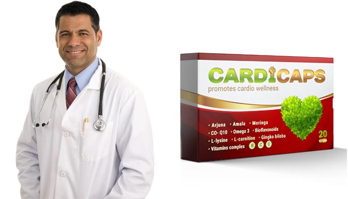 CardiCaps împotriva hipertensiunii arteriale: tensiune în limitele normei de la prima utilizare și pentru totdeauna