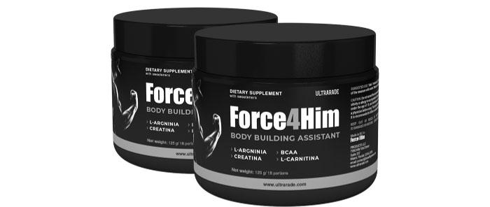 Force4Him: măriți vizibil și mușchi puternici