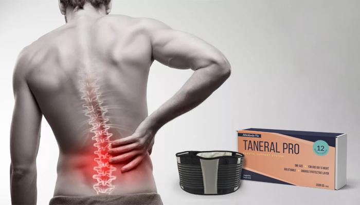 Taneral Pro metoda biomagnetică pentru coloana vertebrală: sfârșit de eră a durerii de spate!