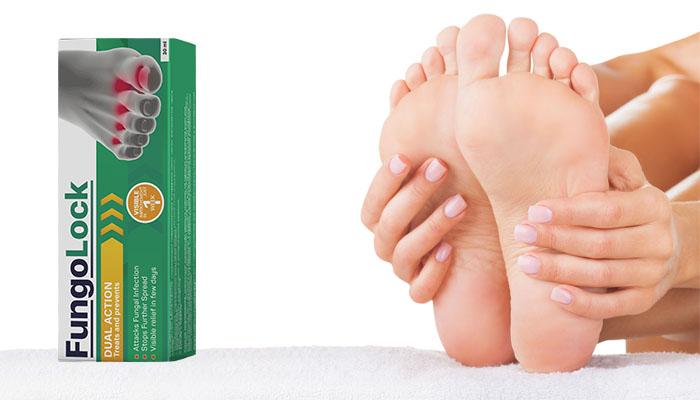 Fungolock: scapă de ciuperca tălpilor și unghiilor pe parcursul 1 cure de tratament