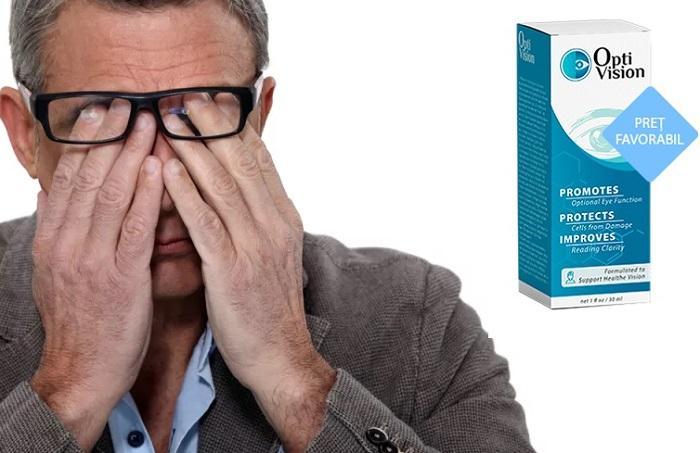 OPTIVISION pentru viziune: restabilește vederea 100% eficacitate!
