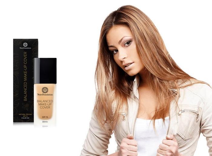 Pure Foundation fundație: aliniază tonul pielii și ascunde imperfecțiunile!