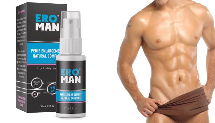 Ero Man: mărirea garantată a penisului cu 5 cm într-o lună