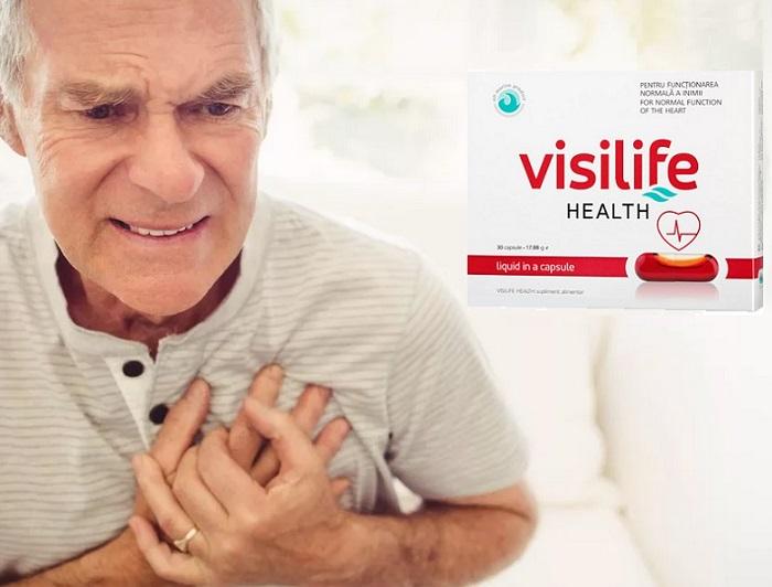 VISILIFE împotriva hipertensiunii arteriale: protecție fiabilă împotriva bolilor vasculare și inimii!