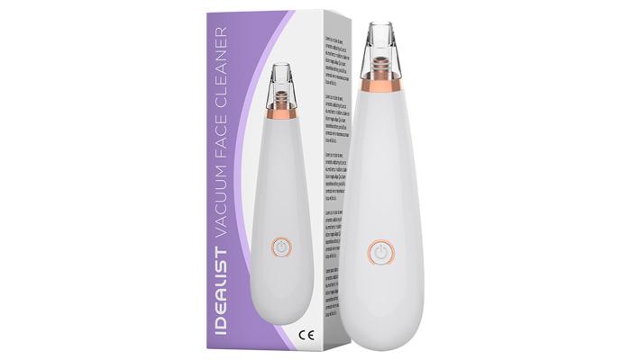 Idealist Vacuum Cleaner: aparat vacuum pentru curățarea porilor infundati