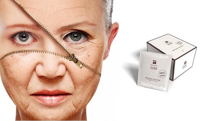 Moor Mask rid: mască anti-îmbătrânire cu acid hialuronic și substanțe humice!