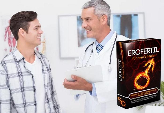 Erofertil pentru potență: dă omului o sănătate masculină puternică!