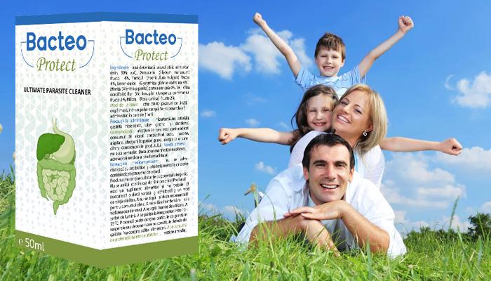 Bacteo Protect împotriva paraziților: paraziții dispar din corp datorită acestui lucru!