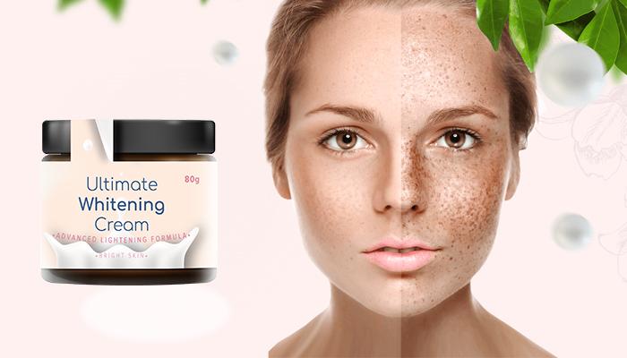 Ultimate Whitening Сream împotriva pigmentării: elimină pigmentarea și previne reapariția acesteia
