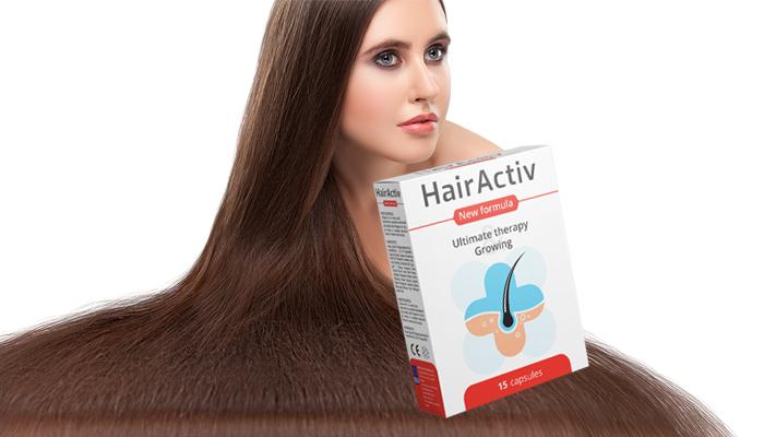 HairActiv pentru creșterea părului și a unghiilor: unghiile sănătoase, genele lungi, sprâncenele frumoase și părul gros