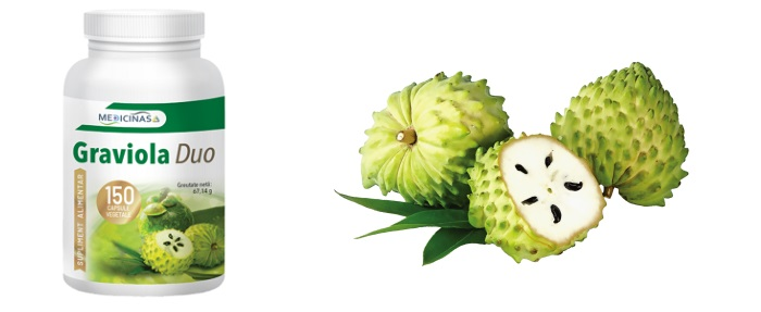 Graviola Duo împotriva cancerului: citostatic natural cu dublu efect împotriva cancerului!
