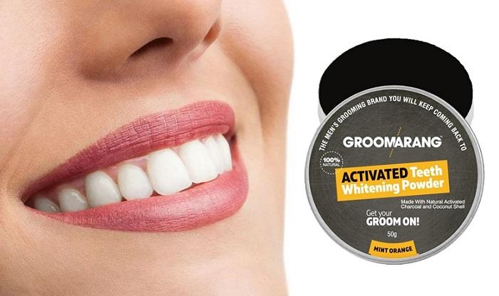 Groomarang pentru albirea dintilor: un zâmbet alb-zăpadă, fără un dentist!