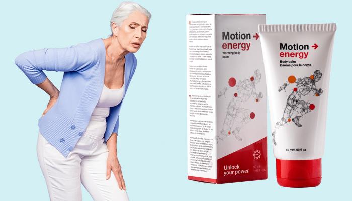 Motion Energy pentru articulații: elimină rapid durerea și spasmele