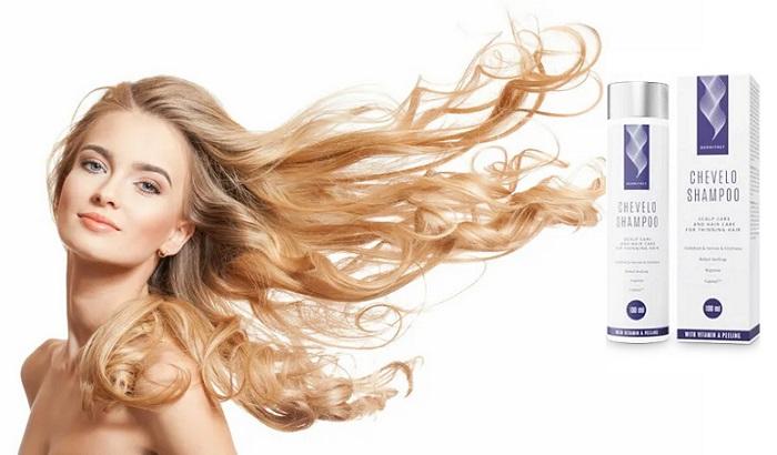 Chevelo Shampoo de la căderea părului: finalul erei calviției și a părului rar!