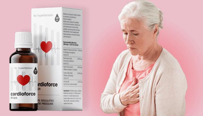 Cardioforce împotriva hipertensiunii: normalizează tensiunea arterială în mod natural